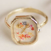 〔APM飾品〕日本Luccica 珍貴約定浪漫時計台戒指