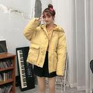女款夾克百搭棉服女士外衣 冬季女生棉襖冬裝女款保暖女孩外套 韩版羽絨冬天加絨冬天加厚上衣