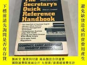 二手書博民逛書店THE罕見SECRETARY S QUICK REFERENCE HANDBOOKY752