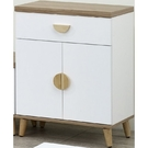櫥櫃 餐櫃 SB-702-3 愛琴海2尺雙色小收納櫃【大眾家居舘】