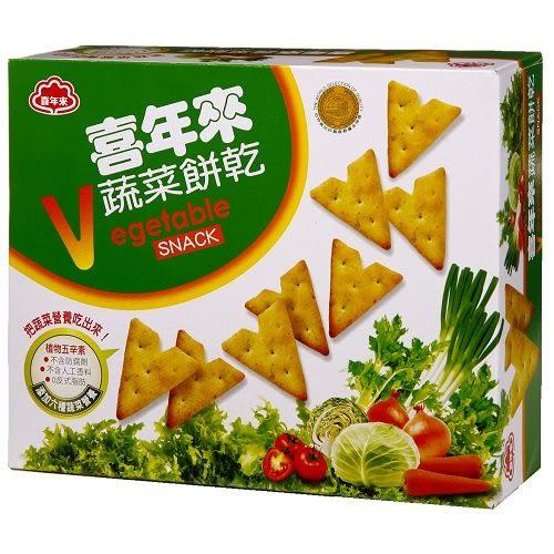 喜年來蔬菜餅乾經濟包150g【愛買】
