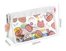 透明筆袋大容量女孩小學生初中生高中可愛文具鉛筆盒女 安雅