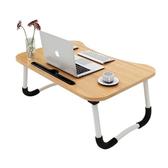 【STYLE 格調】簡約攜帶式床上電腦桌/摺疊桌/和式桌(附 原木