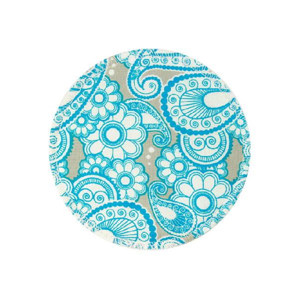 BabyPark 美國Mothers Lounge Breast Pad 可洗式環保溢乳墊-古典佩斯利(一組四入)