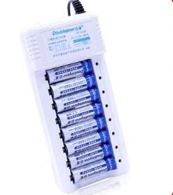 5號充電電池7號通用可充電電池充電器套裝配8節五號可充七號