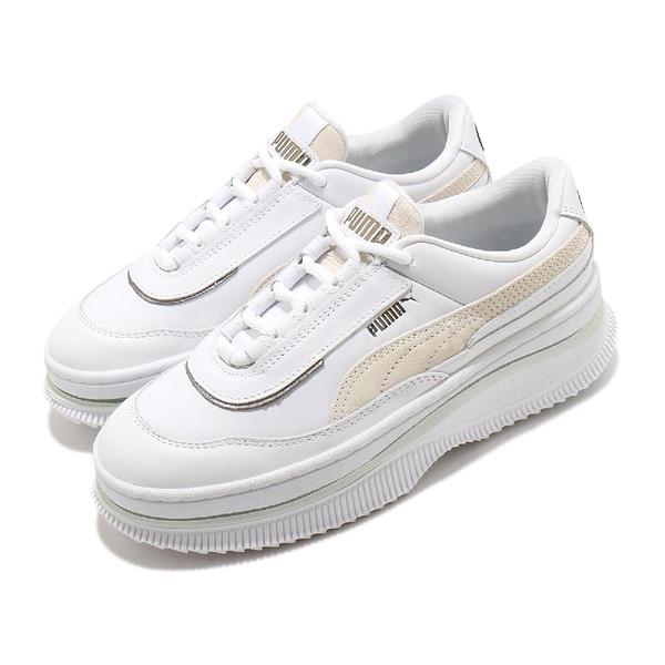 Puma 休閒鞋 Deva Mixed Metallic Wns 白 米白 厚底 女鞋 【ACS】 37392001