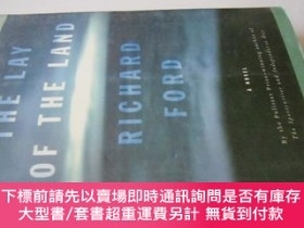 二手書博民逛書店英文原版罕見The Lay of the LandY7215 Richard Ford Knopf 出版20