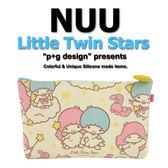 日本空運進口 p+g design NUU X Little Twin Star 雙子星 2016 繽紛矽膠拉鍊零錢包