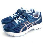 ASICS 亞瑟士 透氣吸震慢跑鞋 運動鞋 《7+1童鞋》5152 水色
