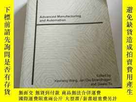 二手書博民逛書店Advanced罕見manufacturing and Auto