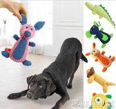 狗狗玩具耐咬大型犬寵物用品金毛薩摩拉布拉多泰迪幼犬發聲狗玩具  非凡小鋪