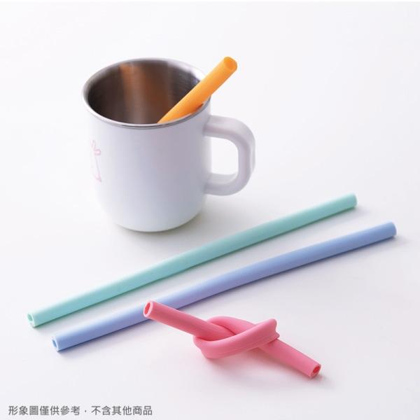奇哥 環保可拆洗矽膠吸管(4入)