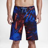 Hurley PHANTOM JJF II-海灘褲-男(紅藍)
