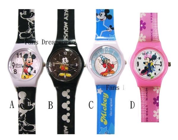 【卡漫城】 米奇 膠錶 六選一 ㊣版 Mickey 兒童錶 卡通錶 米老鼠 手錶 兒童錶 迪士尼