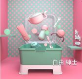 奶瓶收納箱嬰兒餐具收納盒寶寶奶瓶瀝水架帶蓋防塵箱(七夕禮物)WY