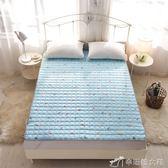 保潔墊 水洗折疊防滑四季單雙人薄床墊床褥子保護墊保潔墊軟床褥榻榻米墊YXS辛瑞拉