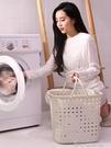 臟衣籃塑料洗衣簍放衣物的神器臟衣服收納筐家用裝衣婁桶籃子簍子 洛小仙女鞋