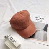 韓國潮流復古水洗做舊鴨舌帽子女夏天學生韓版休閒百搭棒球帽ins 爾碩數位3c