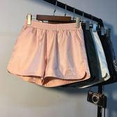 618好康又一發韓版時尚短褲女純色松緊腰寬松闊腿褲