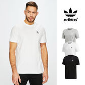 【GT】Adidas Originals 黑白灰 短袖T恤 純棉 運動 休閒 素色 上衣 短T 愛迪達 基本款 三葉草 Logo