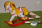 UGEARS 著色搖搖小馬 Trojan horse