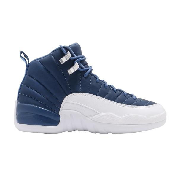 Nike 籃球鞋 Air Jordan 12 Retro GS Indigo Blue 藍 白 女鞋 XII 喬丹 12代 運動鞋【ACS】 DB5595-404