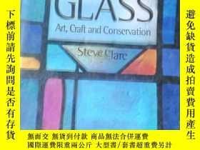 二手書博民逛書店Stained罕見Glass: Art, Craft andY1