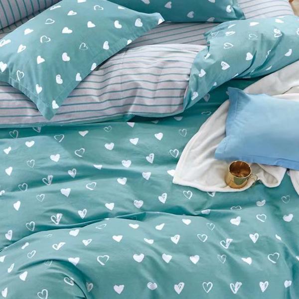 床包 / 單人【小日子】含一件枕套  100%精梳純棉  戀家小舖台灣製