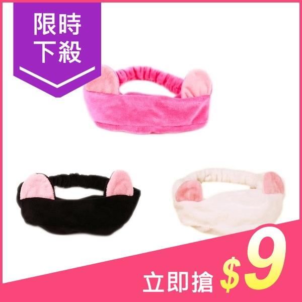 超萌貓咪耳朵髮帶(1入) 多款可選【小三美日】洗臉/美妝/髮箍 原價$19