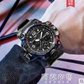 手錶 馬克華菲新款電子手錶男士十大高中初中學生潮流防水運動品牌機械 阿薩布魯