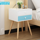 床頭櫃 北歐床頭櫃臥室床邊儲物收納小櫃子家用特價小型邊櫃簡約現代鬥櫃【快速出貨】