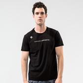 【Takaka】男 時尚簡約透氣T恤『黑』M11913 休閒 居家 運動 上衣 T恤 簡約 印花