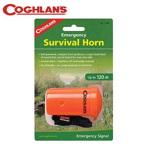 丹大戶外【Coghlans】加拿大 EMERGENCY SURVIVAL HORN 緊急求生號角 1240