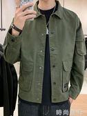 工裝外套男士潮牌新款韓版潮流冬季休閒ins夾克男春秋裝上衣