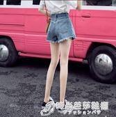 牛仔短褲女高腰冬2019新款夏季寬鬆a字潮chic熱褲外穿網紅超