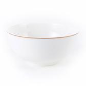 HOLA 緻金骨瓷飯碗 11.5cm 線圈 可適用微波爐及洗碗機