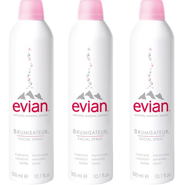 法國Evian愛維養 護膚礦泉噴霧 300mlx3【美人密碼】