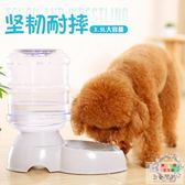 寵物飲水器狗狗食盆貓咪水盆餵食器自動飲水機喂水喝水器泰迪用品  XW【好康免運】