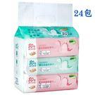 【奇買親子購物網】Nac Nac EDI超純水嬰兒潔膚柔濕巾/80抽(24入)(恐龍)