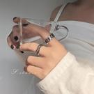 純銀戒指男女時尚個性ins潮冷淡風網紅復古大鏈條食指單身嘻哈戒  【端午節特惠】