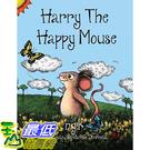 [106美國直購] 2017美國暢銷兒童書 Harry The Happy Mouse: Teaching children to be kind to each other. Paperback