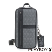 PLAYBOY- 單肩背包 Coolplay系列-百搭灰