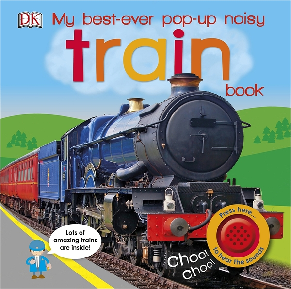 My Best-Ever Pop-Up Noisy Train Book 火車立體學習書