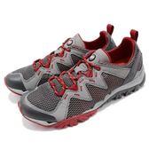 Merrell 戶外鞋 Tetrex Rapid Crest 越野 慢跑 透氣 運動鞋 灰 紅 男鞋【PUMP306】 ML12855