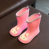 兒童雨鞋男童日本幼兒輕便小童防滑雨靴女膠鞋1-3歲寶寶水鞋梗豆物語