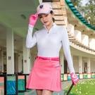 高爾夫裙 高爾夫短裙女士裙子 網球裙夏季羽毛球運動裙褲 半身裙送腰帶-Ballet朵朵