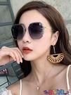 太陽眼鏡 2021年新款墨鏡女太陽眼鏡GM韓版潮防紫外線大臉顯瘦時尚2021寶貝計畫 上新