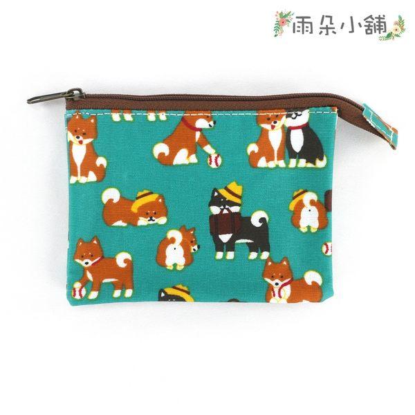 零錢包 包包 防水包 雨朵小舖雨朵防水包 M055-732 單拉鍊內雙層零錢包-綠公事包柴犬08124 funbaobao