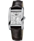 ORIS 豪利時 Rectangular 經典日期顯示機械女錶-銀x咖啡/25mm 0156176924061-0751820FC