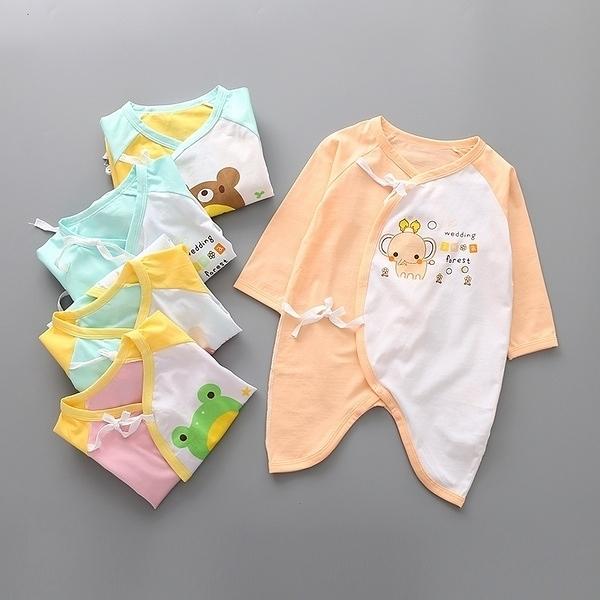 超低折扣NG商品~嬰兒長袖蝴蝶裝 新生兒肚衣 連身衣 寶寶兔裝 XE11301 好娃娃